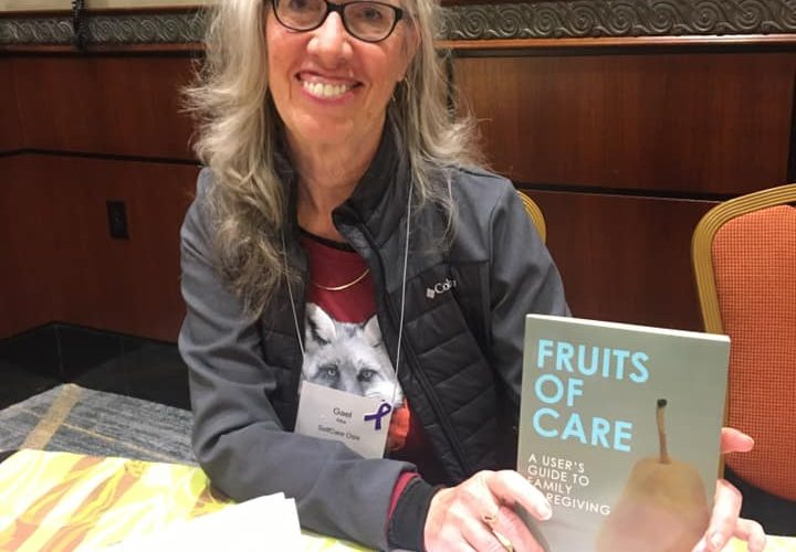 Photo: Gael at the National Caregiving Conference in Chicago, November 2019